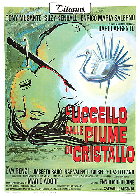 movie poster for The Bird with the Crystal Plumage