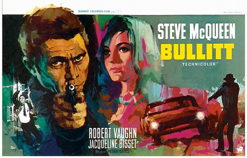 another Bullitt movie poster