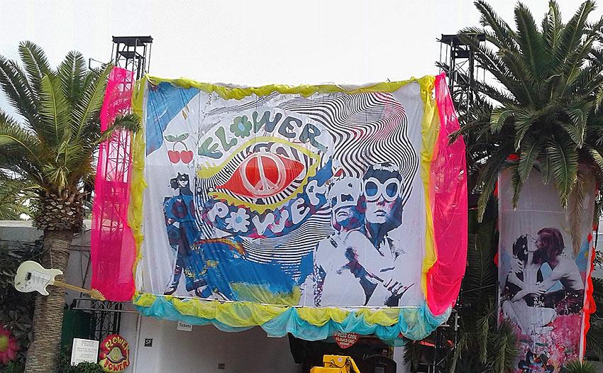 Flower Power night at Pasha