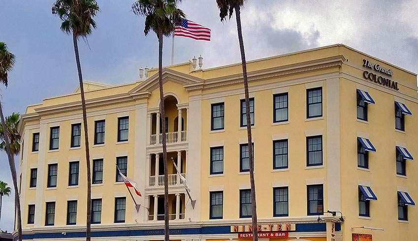 the Grande Colonial Hotel, La Jolla