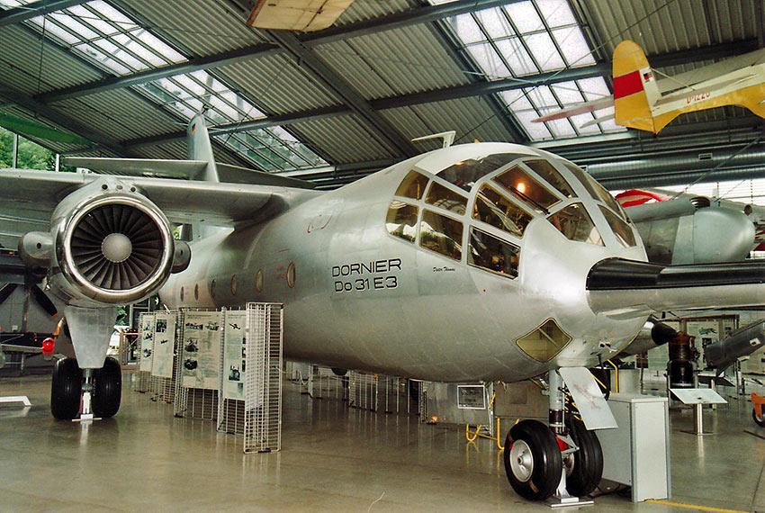 Dornier 31 VTOL aircraft