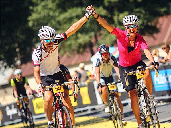 L'Etape du Tour cyclists