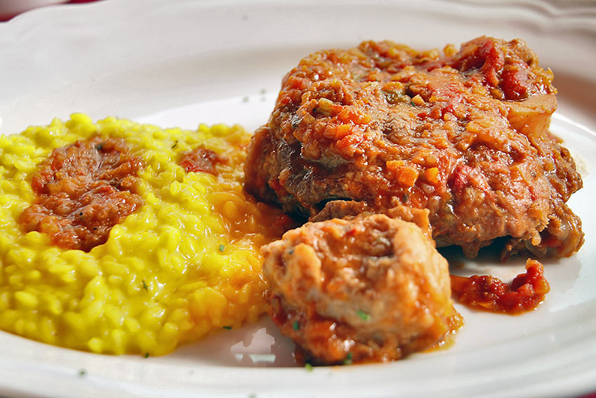 a Milanese specialty: Osso Buco