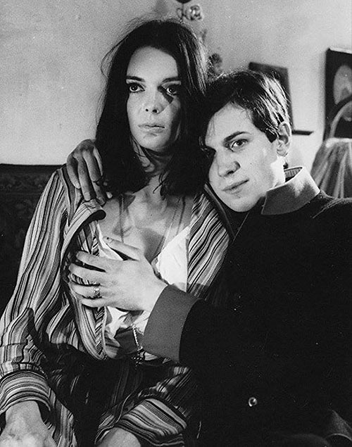 Barbara Steele and Bernd Tischer in Young Törless