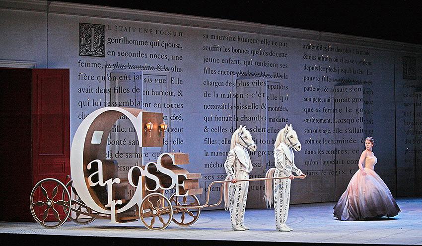 scene from Laurent Pelly's new production of Massenet's Cendrillon