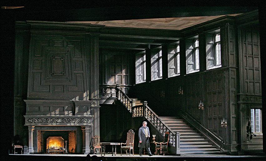 scene from Verdi's Luisa Miller