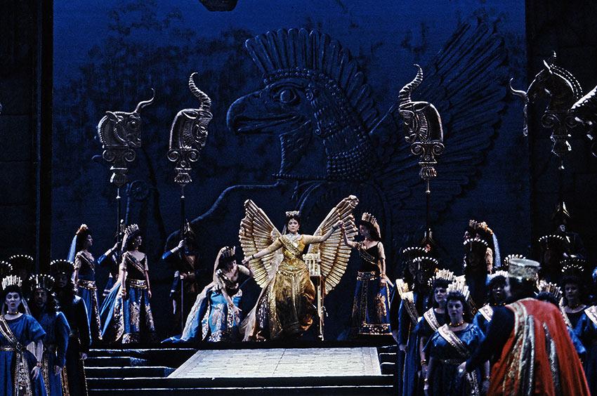 scene from Rossini's Semiramide