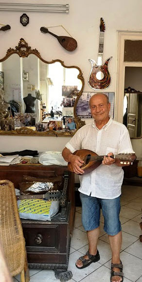 tailor and musician, Palermo