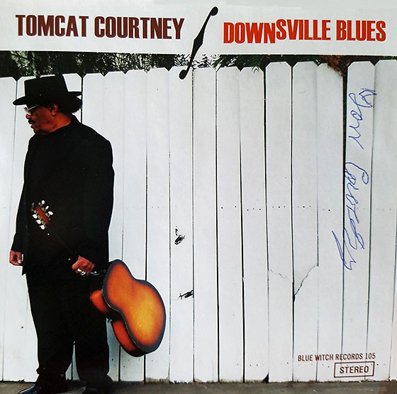 CD cover of Downsville Blues