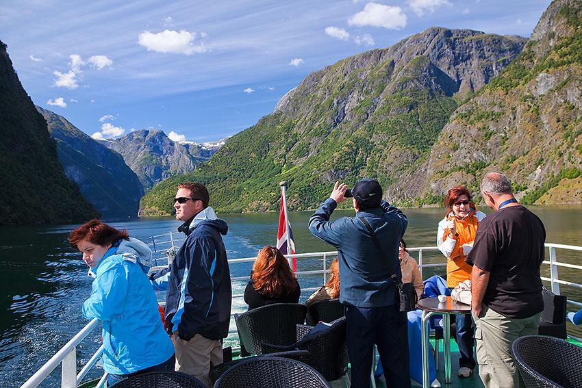 Bergen fjord cruise