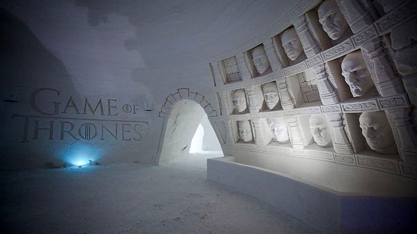 Game of Thrones-themed ice hotel in Finland