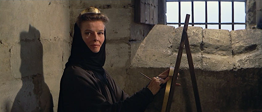 Katharine Hepburn in a scene from The Lion in Winter