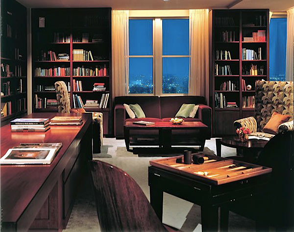 Club level lounge at Loews Hotel Philadelphia