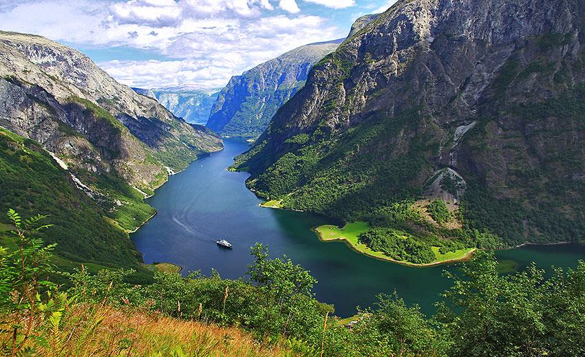 Naroyfjord, Norway