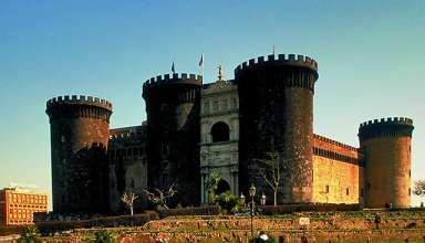 Castel Nuovo (Maschio Angioino) in central Naples