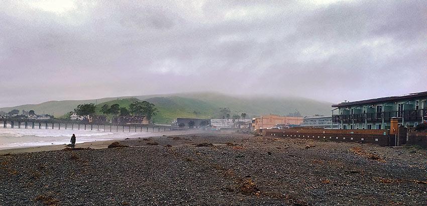 Cayucos coastal scene