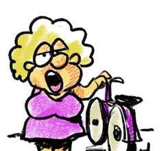 Friday Bike Ride cartoon