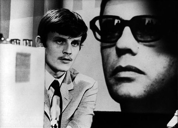 Jean Louis Trintignant and Jacques Perrin in Z