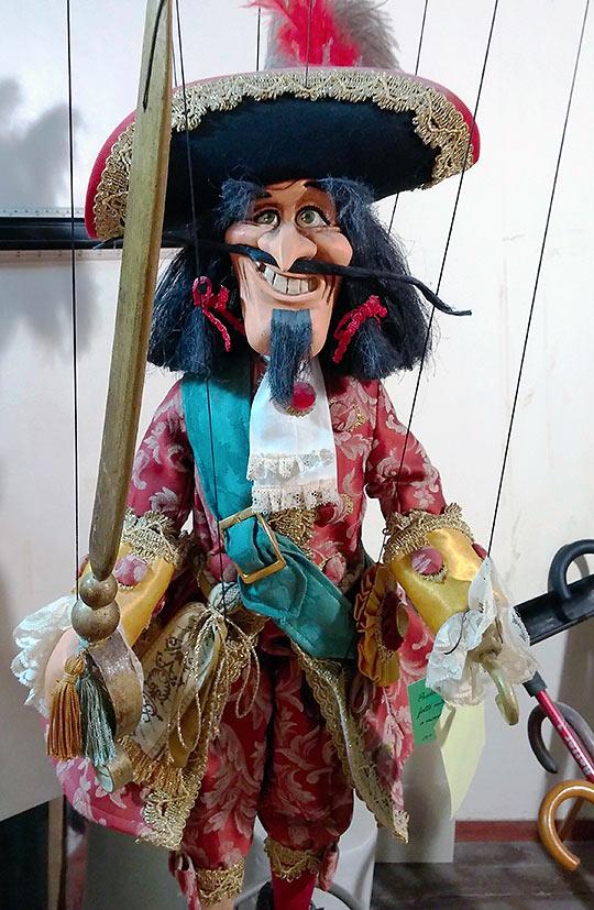 marionette at Pinocchio Island