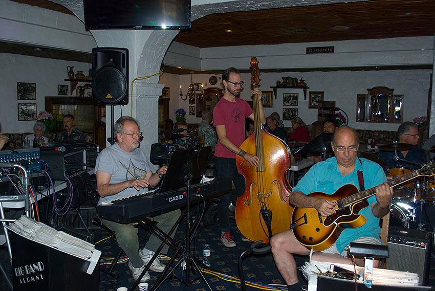 Johnny Vana's rhythm section