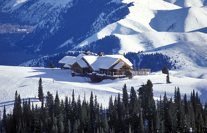 the Seattle Ridge Day Lodge
