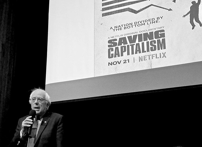 Bernie Sanders at the National Press Club
