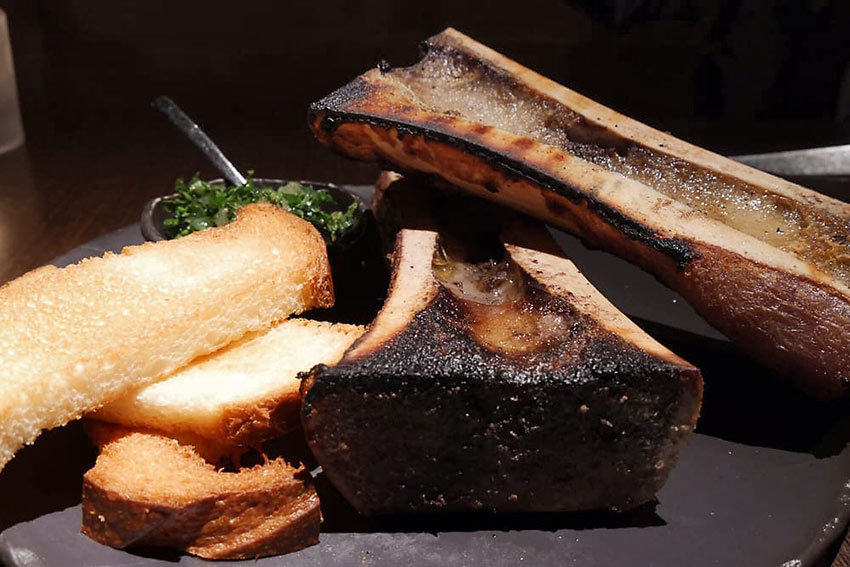 bone marrow at the Aria Resort and Casino