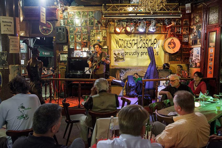 live music at the Yorckschlösschen, Berlin