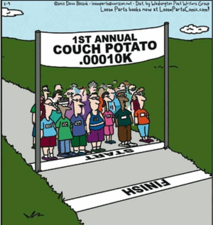 Couch Potato Run