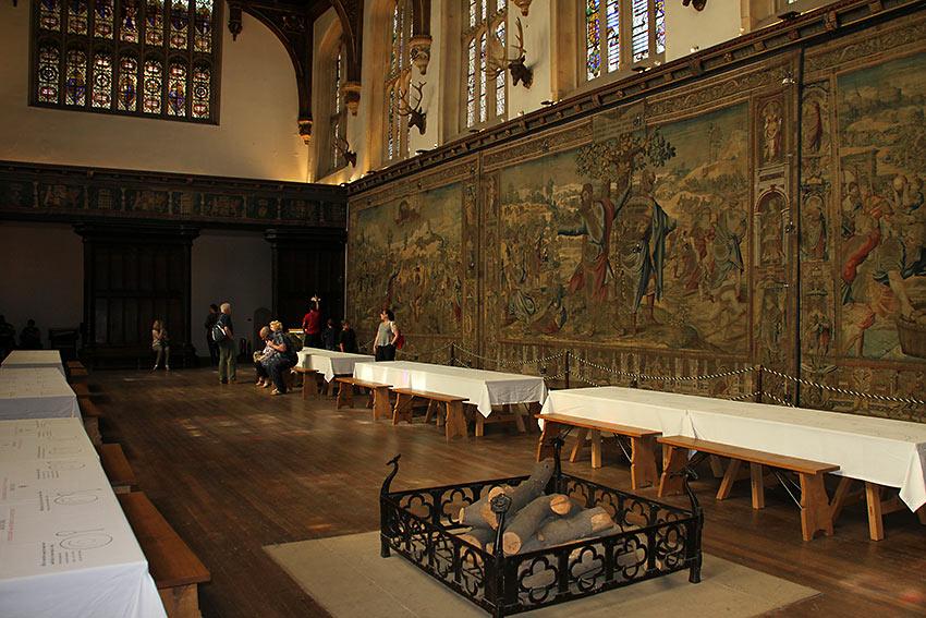 dining room at Hampton Court Palace