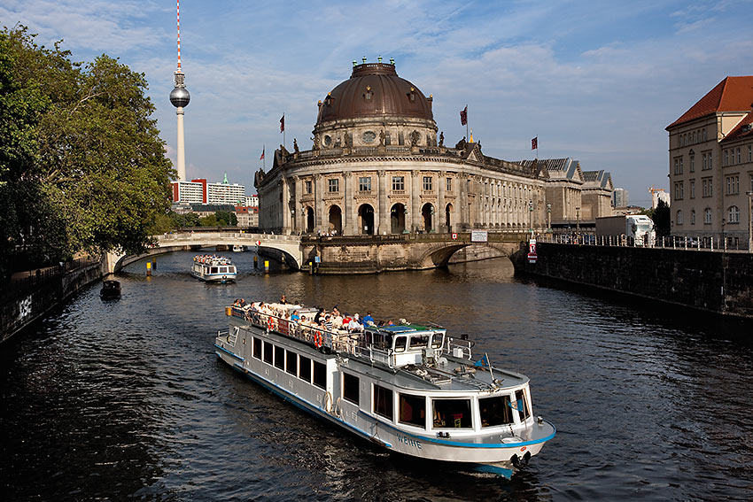 Museum Island and the Spree River