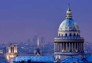 the Pantheon and its skyline, Paris