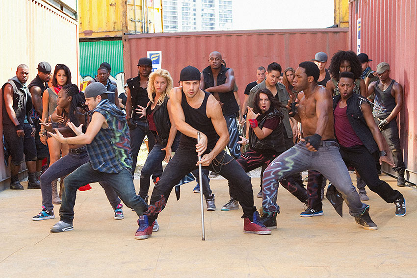 a scene from 'Step Up Revolution'