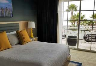 bedroom at the writer's room, Inn at the Pier