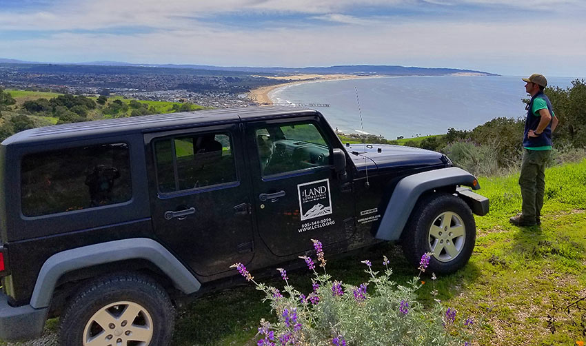at the Pismo Preserve on an off-road Jeep tour