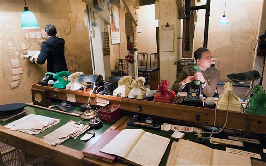 one of the Churchill War Rooms