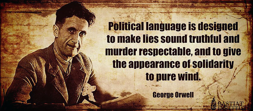 George Orwell quote