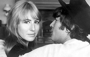 John Lennon and Cynthia Powell