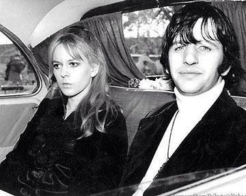 Ringo Starr and Maureen Cox