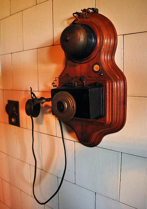 servant phone at the Biltmore Estate
