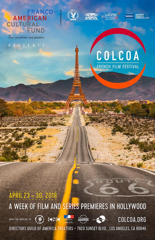 COLCOA French Film Festival poster