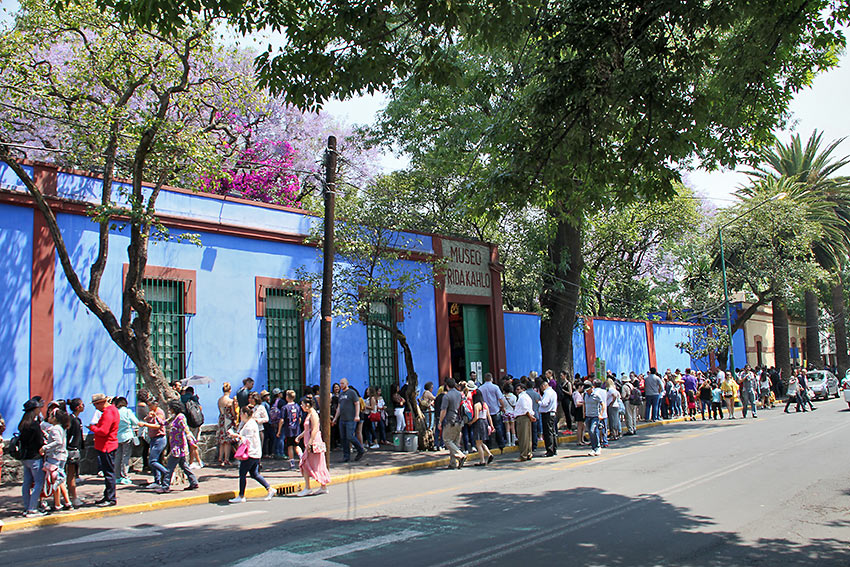 the Coyoacán neighborhood