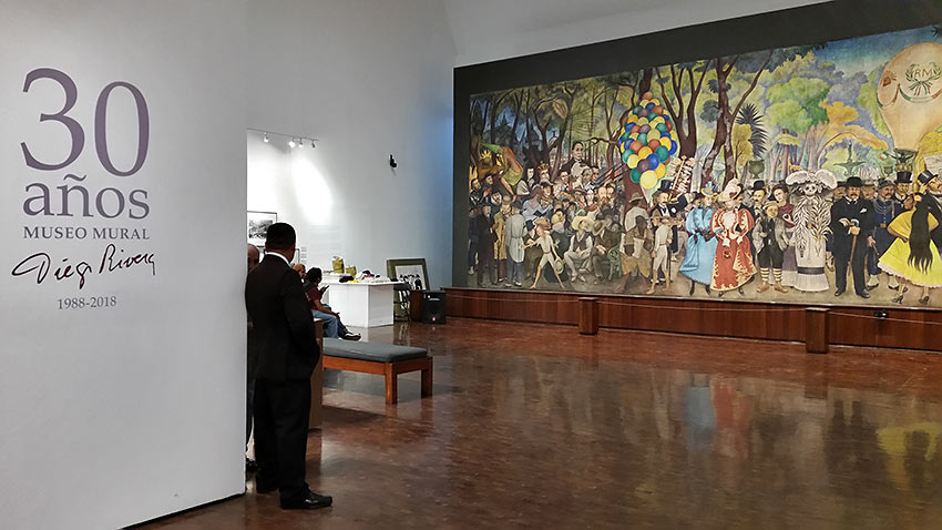 the Diego Rivera Mural Museo