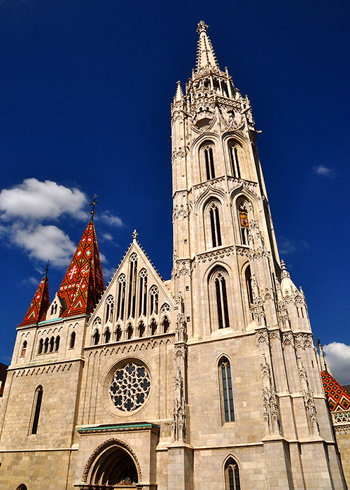 the Mathias Church in Budapest
