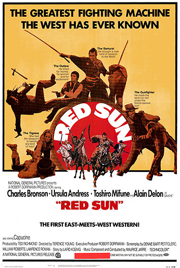 Red Sun movie poster