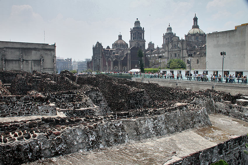about Mexico City: Templo Mayor ruins