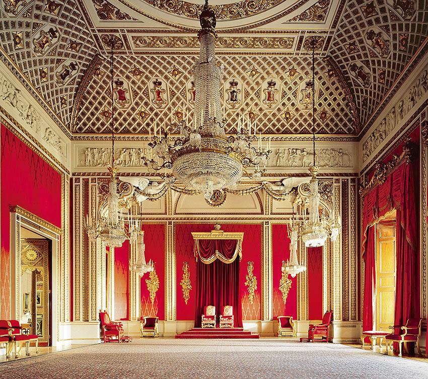 the Throne Room, Buckingham Palace
