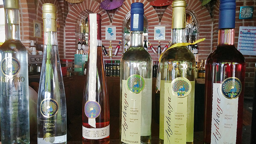 winery at Shan State