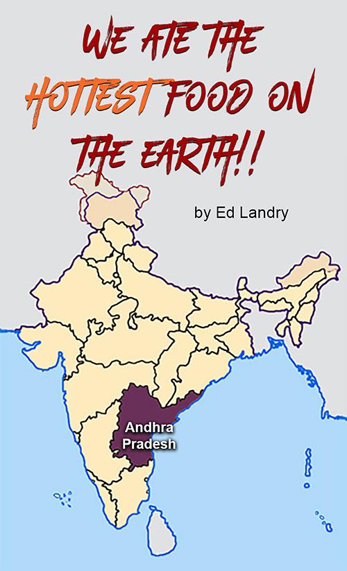 location map of Andhra Pradesh, India