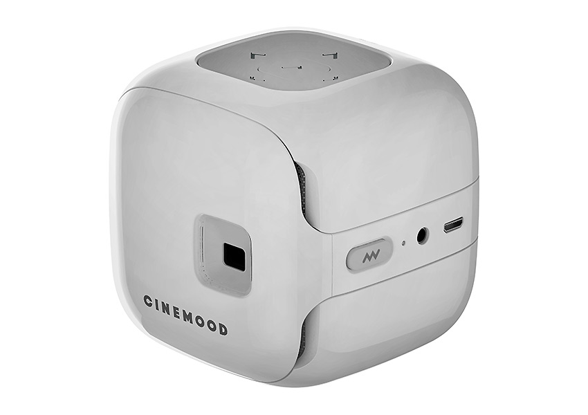 Cinemood ultra-light 3-inch portable projector